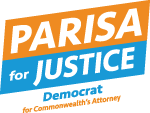 Parisa For Justice Logo